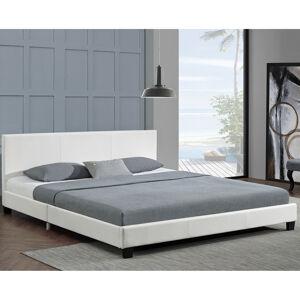 """Čalouněná postel,, Barcelona """"180 x 200 cm - bílá"""