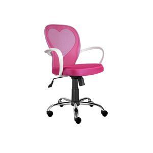 Kancelářská židle DAISY růžová