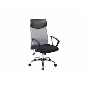 Kancelářská židle Q-025 šedo/černá