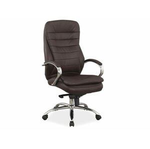Kancelářská židle Q-154 hnědá