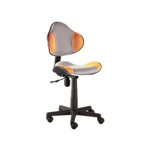 Kancelářská židle Q-G2 oranžovo/šedá