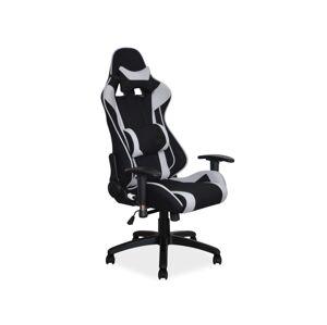 Kancelářská židle VIPER černá/šedá