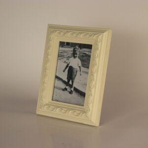 Klasický fotorámeček krémový 16,5x21cm