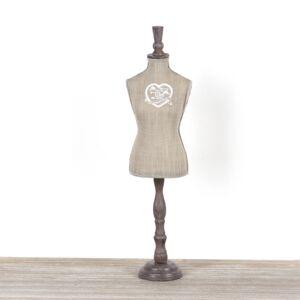 Krejčovská panna na šperky 16x12x60cm