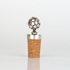 Zátka na víno fotbalový míč 7cm - dárek pro fotbalistu